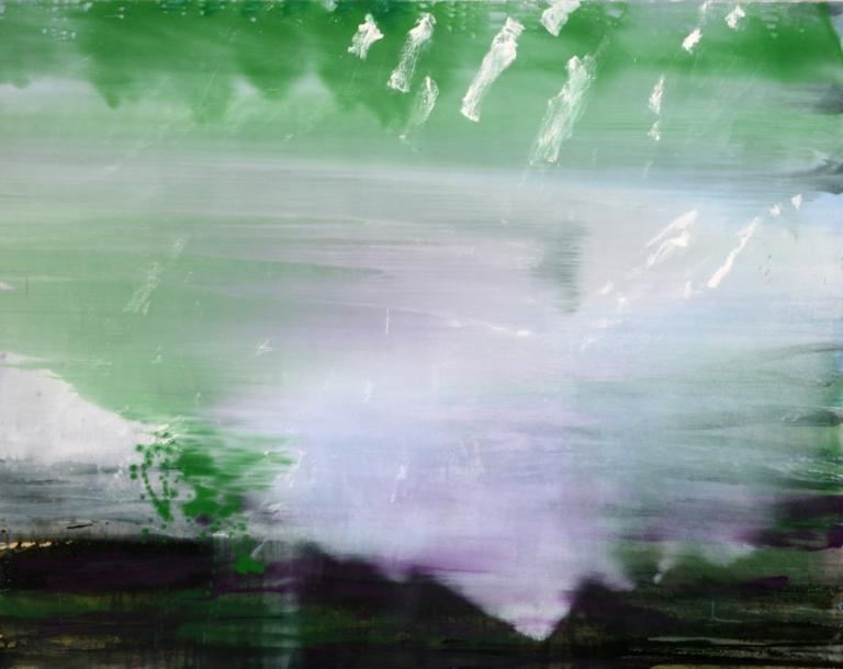 Anne Slacik La Seine était verte à ton bras
