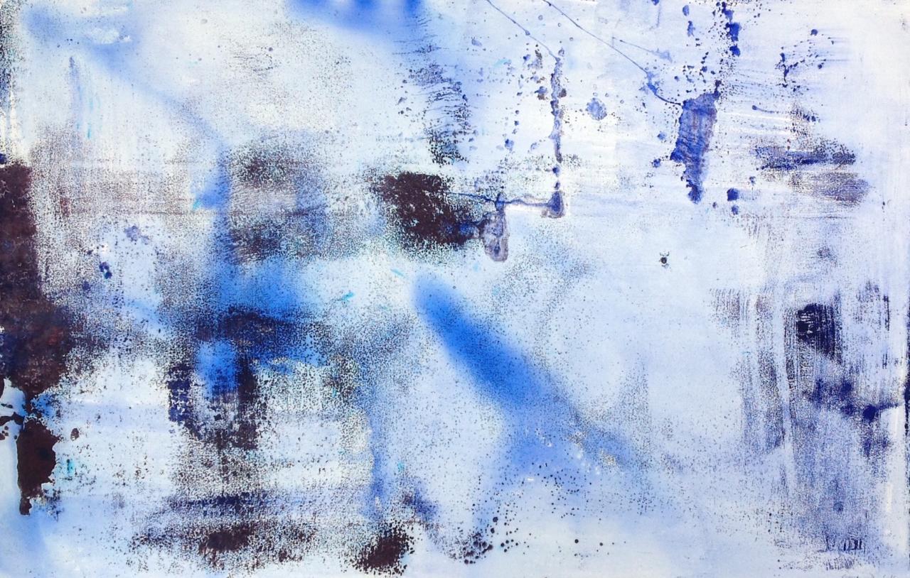 Anne Slacik Les miroirs <br>(papiers)