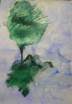 Anne Slacik Les arbres