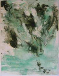 Anne Slacik Les arbres <br>(papiers)